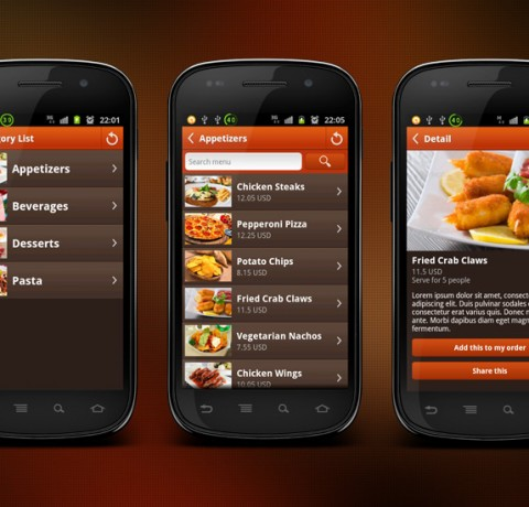Mobile Interfaces by Redwand Ventures