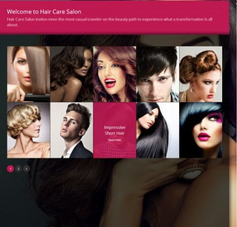 Brooklyn's Redwand Ventures Salon and Spa web development